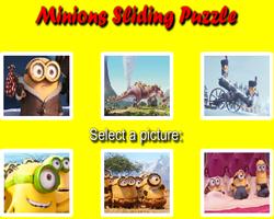 Minions Sliding Puzzle